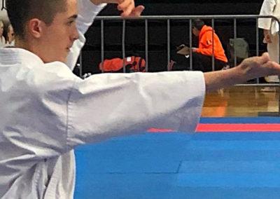 Giacomo Sala zeigt Kata Kosokun Dai am Krokoyama Cup 2018