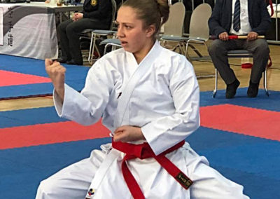 Jassmin Botteci zeigt Kata Nipaipo am Krokoyama Cup 2018